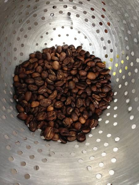 pan roasted coffee